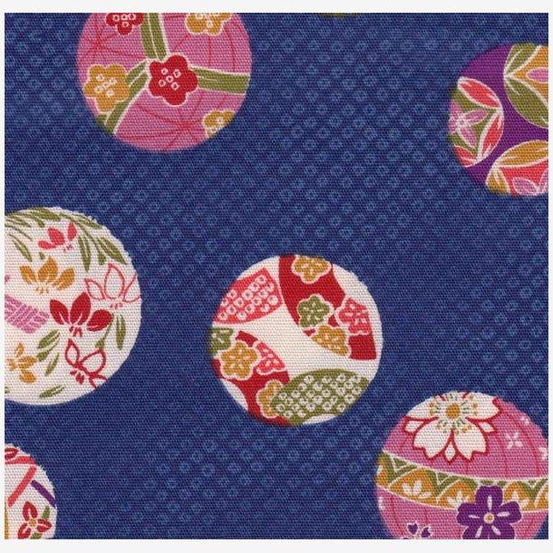 Japanske bolde på blå