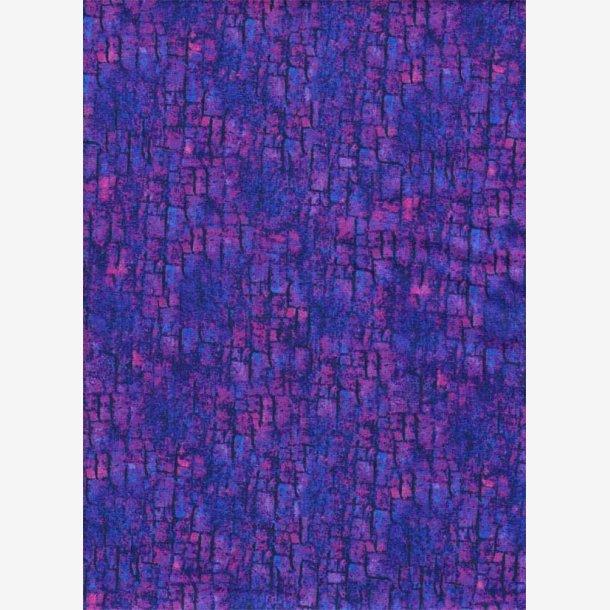 Blå/violet struktur