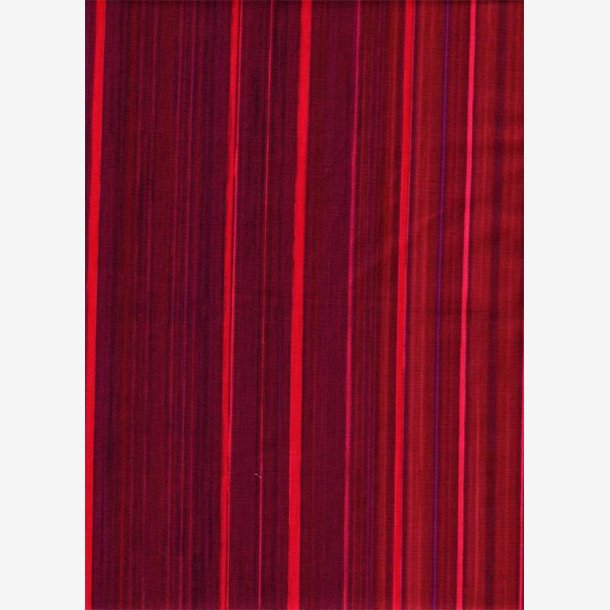 Røde tone-i-tone striber