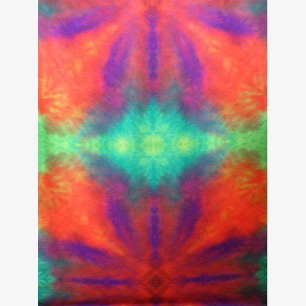 Symmetri II/Orange/lilla/grøn