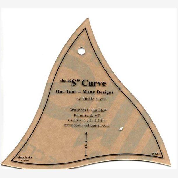 S-Curve - skabelon