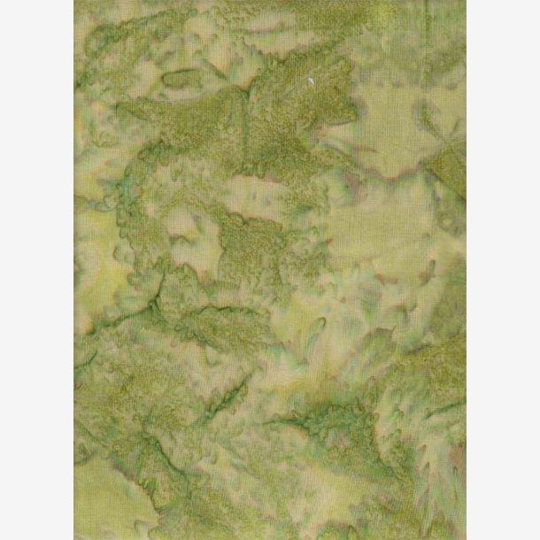 Forårsgrøn batik
