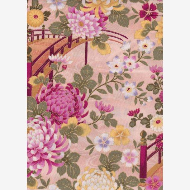 Blomster og broer/creme