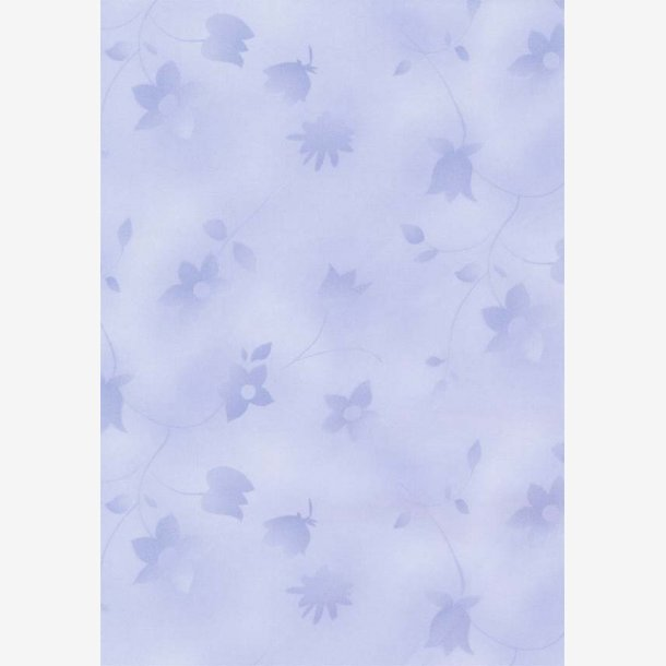 Lys blå tone-i-tone blomster