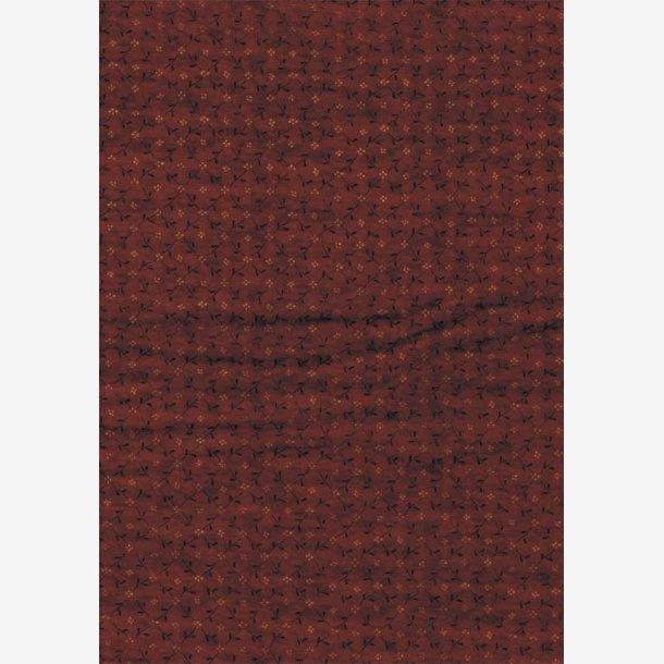 Rustfarvet tone-i-tone (flonel)