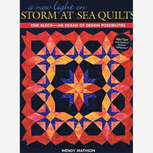 New light on Storm at Sea Quilts