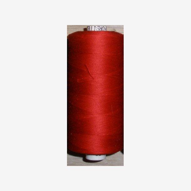 Bomuldstråd - mørk rød
