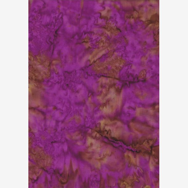 Lilla/brun batik
