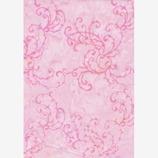 Stærk pink på rosa baggrund
