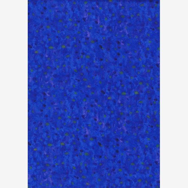 'Farveklatter' på blå
