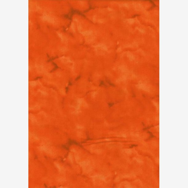 Orangerød tone-i-tone