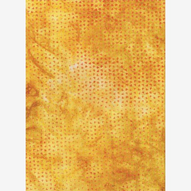 Varm gul tone-i-tone batik