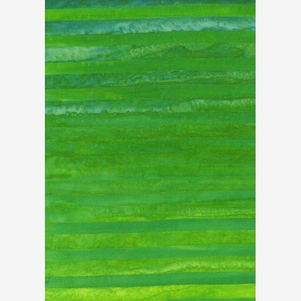 Blågrønne striber - batik