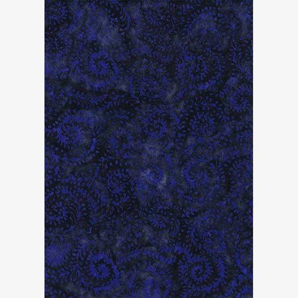 Blåviolet på koksgrå baggrund