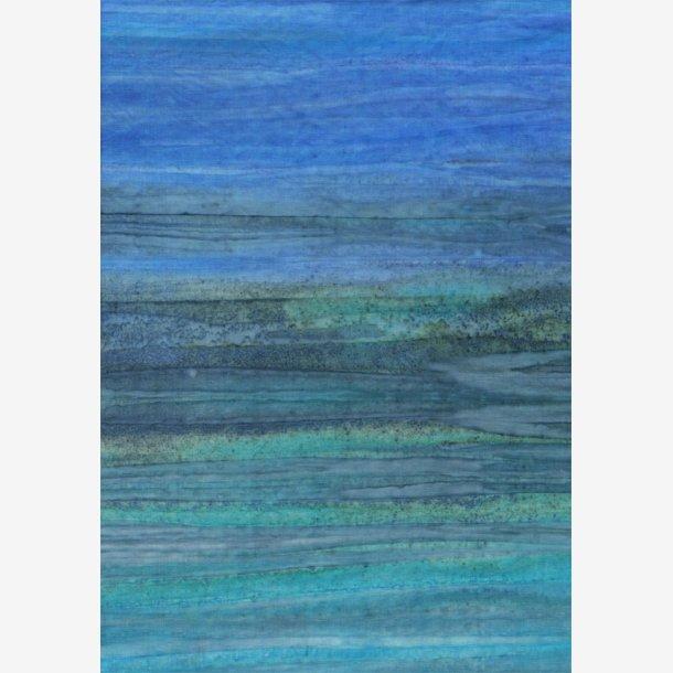 Batik-striber - Azure