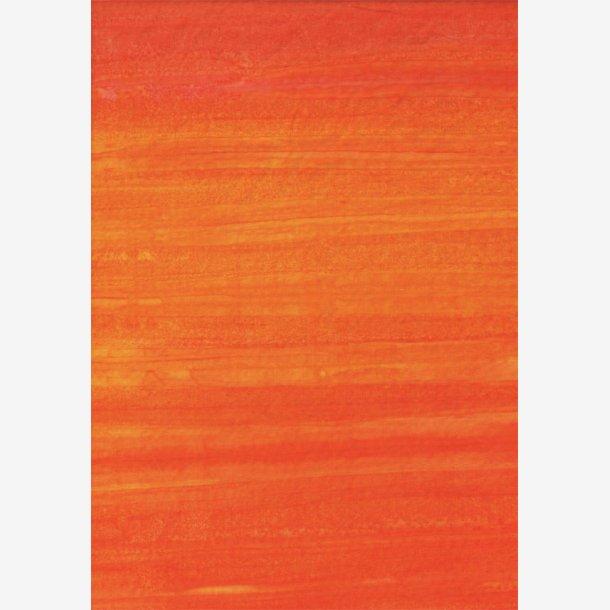 Batik-striber - Tangerine