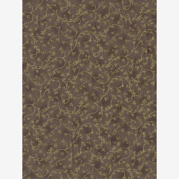 Guldranker på gråbrun