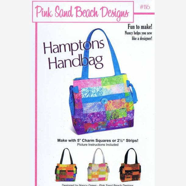 Hamptons handbag - taskemønster