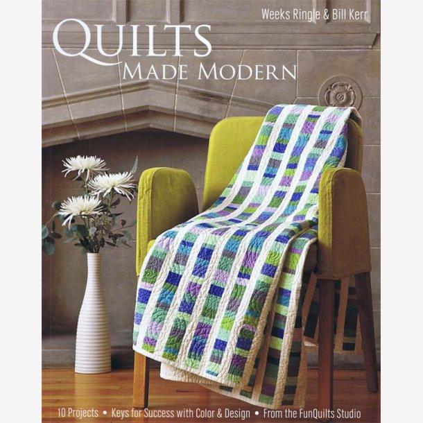 Quilts made modern