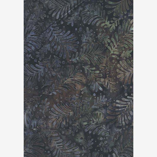 Blade på brun/batik