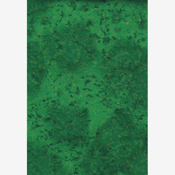 Grøn tone-i-tone med metaleffekt