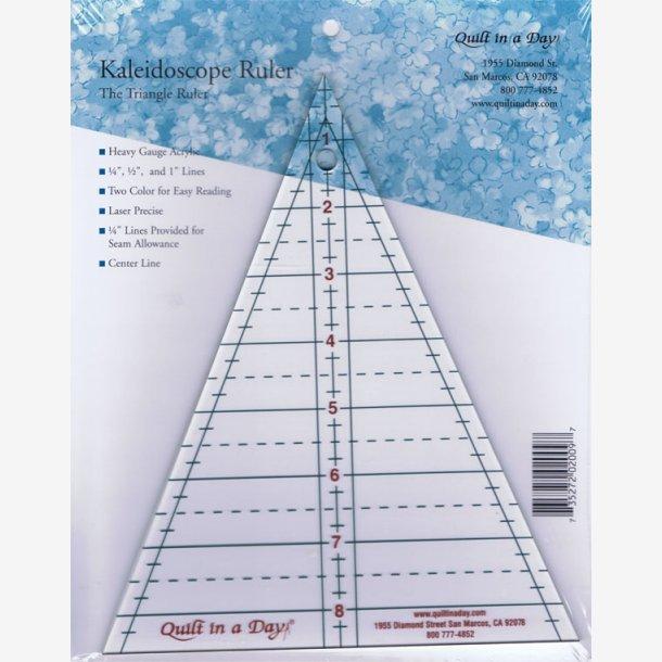 45 grader kaleidoskop-lineal