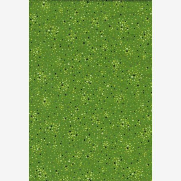 Prikker på grøn