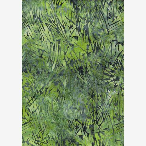 Batik i grønne nuancer