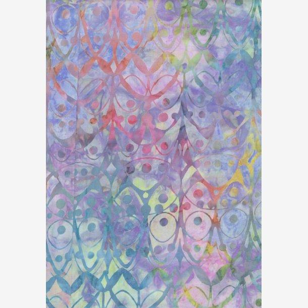Batik i 'bolsjefarver'