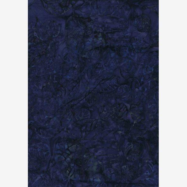 Midnatsblå batik
