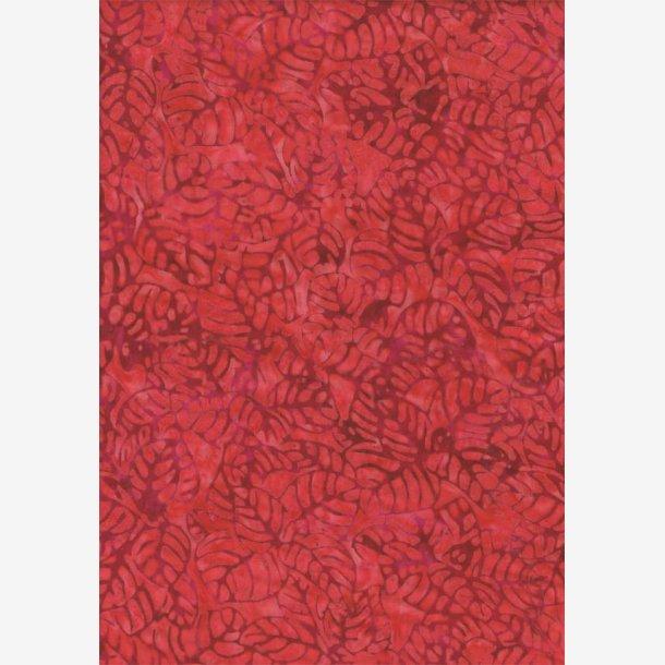 Rød tone-i-tone batik