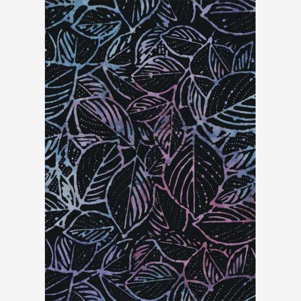 Blade på sort (265 cm bred)