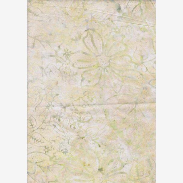 Sandfarvet tone-i-tone batik - 265 cm bredt