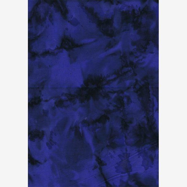 Mørk blå tone-i-tone batik