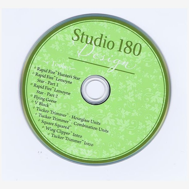 Instruktions-CD til Studio180 design
