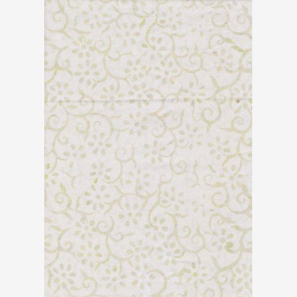 Creme tone-i-tone/Tiny Blooms - batik