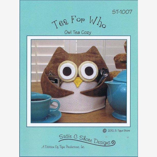 Tea for Who - mønster til thehætte