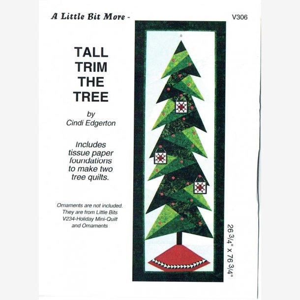 Ophæng med juletræ - stor (ca. 65 x 190 cm)