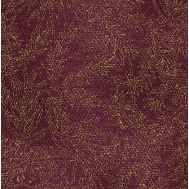 'Guld'kviste på rødlilla