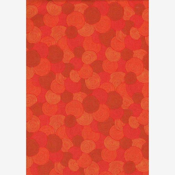 Rød/orange spiraler