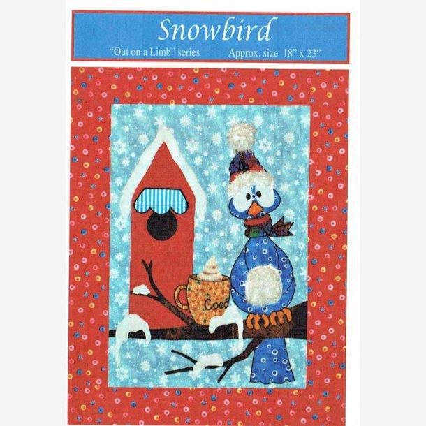 Snowbird - mønster til vægophæng