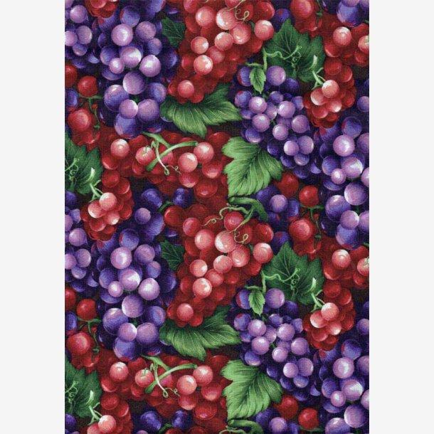 Røde og blå druer