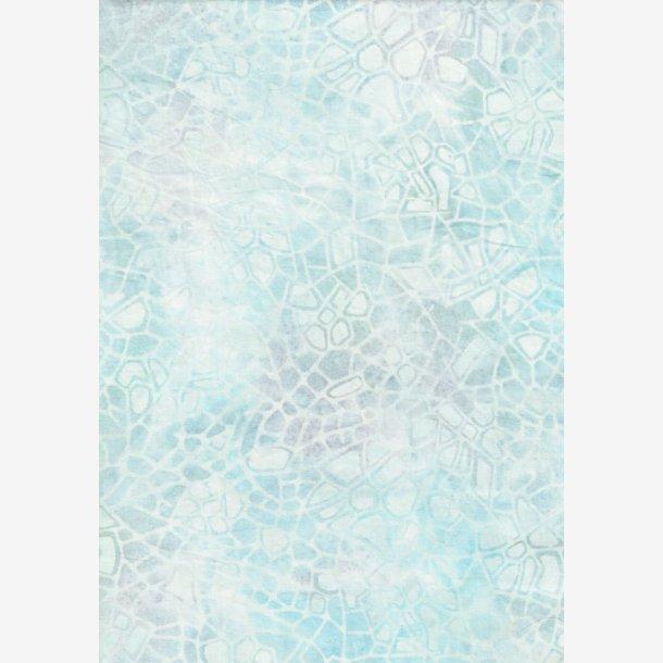 Lys blå mosaik