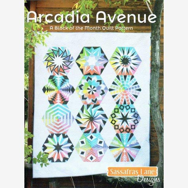 Arcadia Avenue, 16 sider + mønsterdel