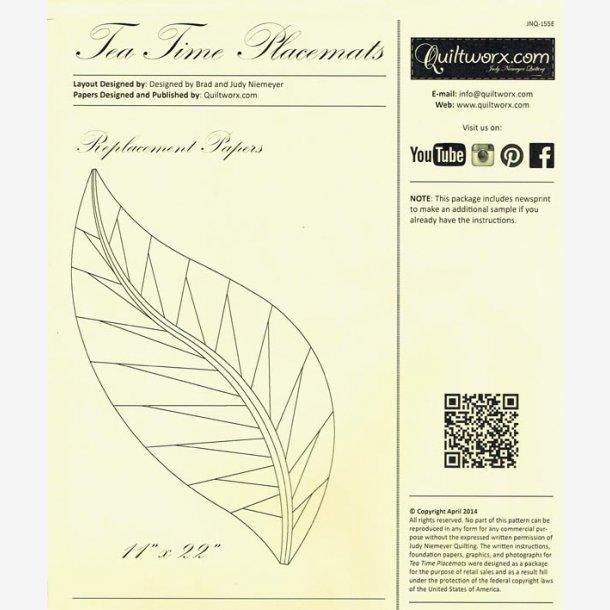Ekstra Papir til Tea Time dækkeservietter