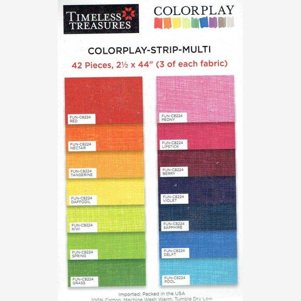 Colorplay - strip - multi