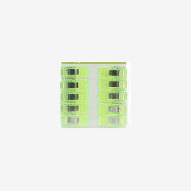 Clover Wonder Clips - Neon grøn