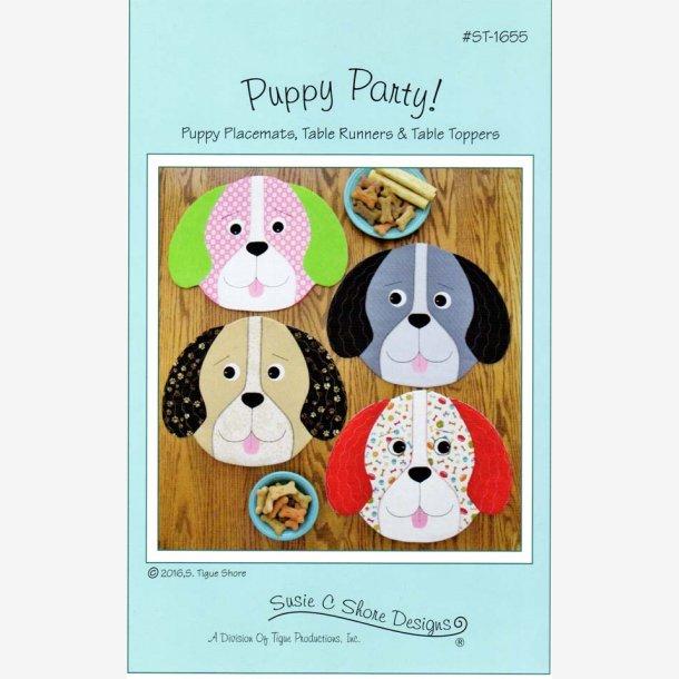 Puppy Party - mønster til dækkeservietter