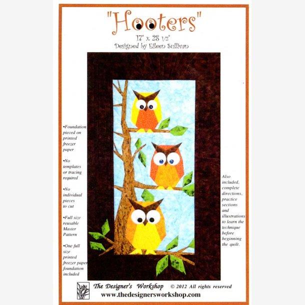Hooters - vægophæng med ugler