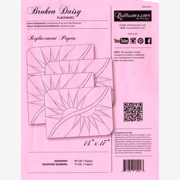 Broken Daisy - ekstra papir